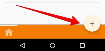 Taskerアプリ下部の画像